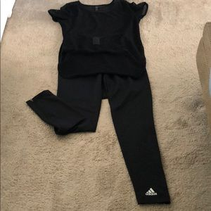 Adidas Workout Pants-leggings Size XL